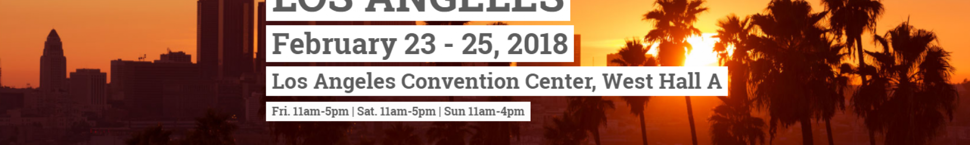 2018 LA Abilities Expo!